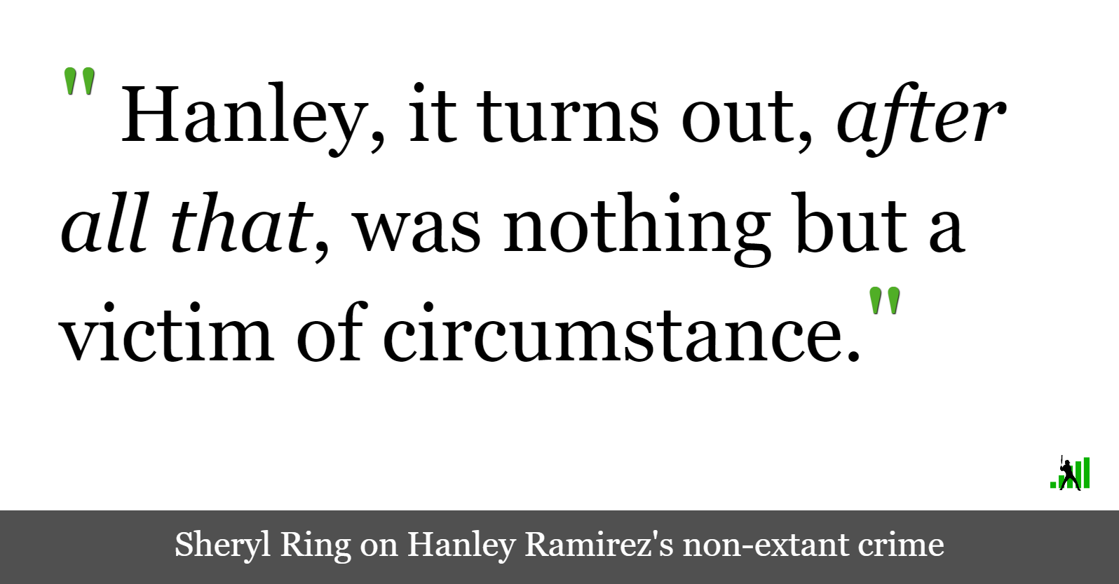 The Story of Hanley Ramirez, the Drug Kingpin Who Never Was